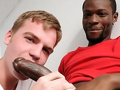 Big black stud Pleasure Boi joins us..