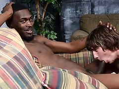 Mason Brooks' first time with a black..